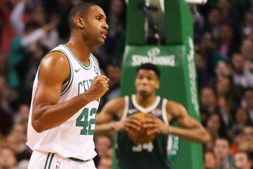 Al Horford Milwaukee Bucks v Boston Celtics