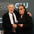 Al Pacino 25th Annual Critics' Choice Awards - Press Room