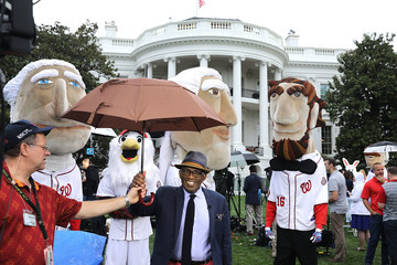 Al Roker Donald Trump And Melania Trump Host White House Easter Egg Roll