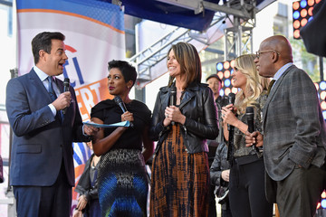 Al Roker Tamron Hall Carrie Underwood Performs on the Citi Concert Series on Today