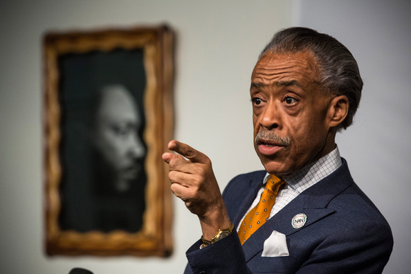Al Sharpton Reverend Al Sharpton attends the funeral service for ...