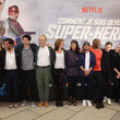 """Alain Attal Premiere Of The Movie """"How Did I Become A Super Hero"""" At Cour Carre Du Louvre"""