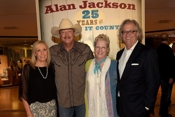 Alan Jackson Kyle Young Alan Jackson Exhibit Opening Reception At Country Music Hall Of Fame And Museum