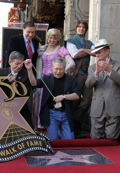 Alan Menken - Alan Menken Honored On The Hollywood Walk Of Fame