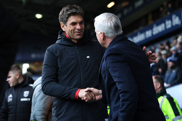 Alan Pardew West Bromwich Albion v Southampton - The Emirates FA Cup Fifth Round