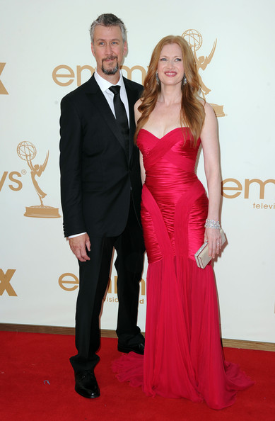 Mireille Enos with cool, Husband Alan Ruck