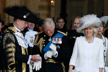 Alan Yarrow The Prince of Wales & The Duchess of Cornwall Attend a National Service to Mark The 200th Anniversary Of The Battle Of Waterloo