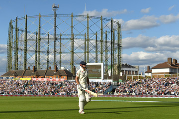 Alastair Cook England vs. India: Specsavers 5th Test - Day One