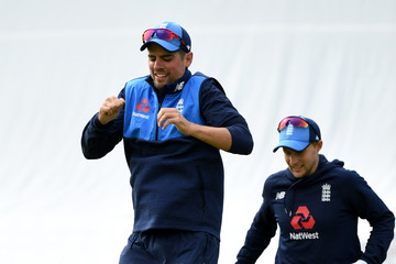 Alastair Cook England & West Indies Net Sessions