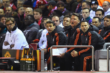 Albert Stuivenberg Liverpool v Manchester United - UEFA Europa League Round of 16: First Leg