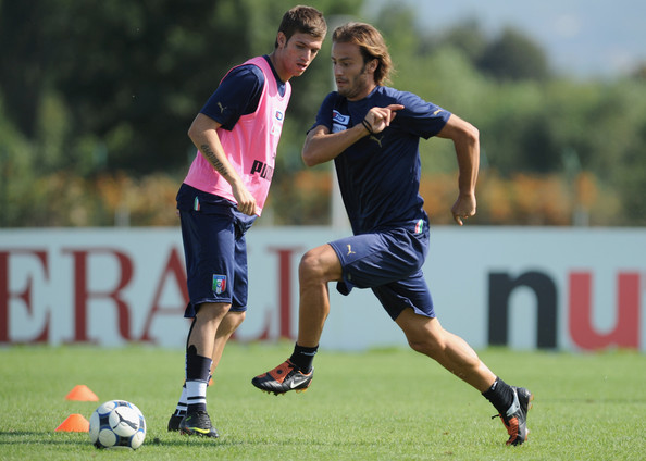 Italy Training Session & Press Conference []