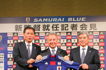Hiromi Hara Alberto Zaccheroni Is Appointed As Japan National Team Coach