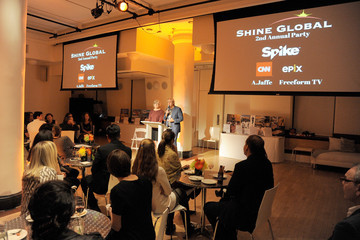 Albie Hecht Shine Global 2nd Annual Party Nov 4, 2016 - Transforming Children's Lives Through Film