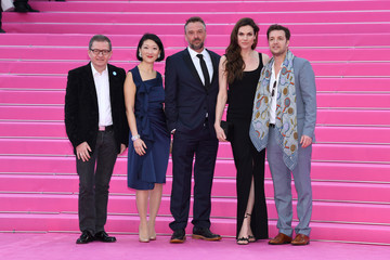 "Albin Lewi ""Miguel"" and ""Undercover"" Pink Carpet Arrivals - The 1st Cannes International Series Festival"