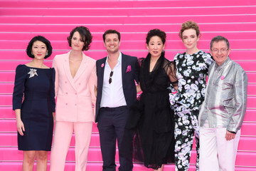 Albin Lewi 'Killing Eve' and 'When Heroes Fly' Pink Carpet Arrivals - The 1st Cannes International Series Festival
