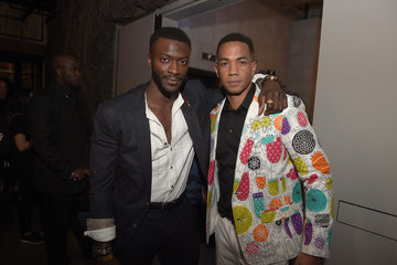 Aldis Hodge Alano Miller Premiere of WGN America's 'Underground' - After Party