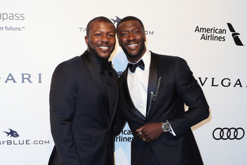 Aldis Hodge 25th Annual Elton John AIDS Foundation's Oscar Viewing Party - Arrivals