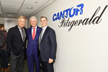 Alec Baldwin Annual Charity Day Hosted By Cantor Fitzgerald, BGC and GFI - Cantor Fitzgerald Office - Inside
