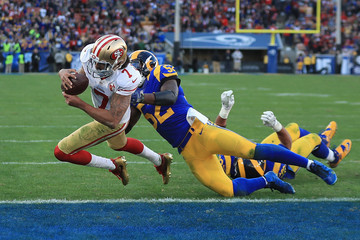 Alec Ogletree San Francisco 49ers v Los Angeles Rams