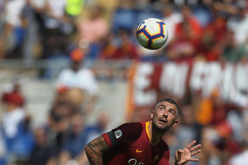 Aleksandar Kolarov AS Roma vs. Chievo Verona - Serie A