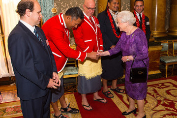 Alesana Tuilagi The Queen Hosts Reception to Mark the Rugby World Cup 2015