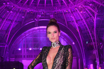 Alessandra Ambrosio 2016 Victoria's Secret Fashion Show in Paris - After Party - Inside