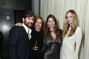 Michael Atmore, Dodo Bar Or, Valentina Micchetti and Anne Vyalitsyna attend the Alevi Milano NYFW Dinner on September 09, 2019 in New York City.