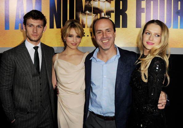 Alex Pettyfer and Dianna Agron - Premiere Of DreamWorks Pictures'