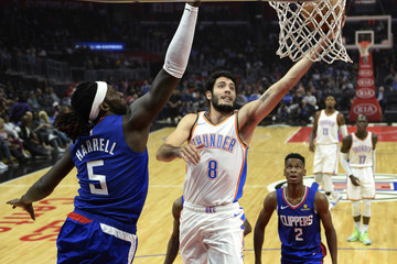 Alex Abrines Oklahoma City Thunder v Los Angeles Clippers 60c0c4d3c