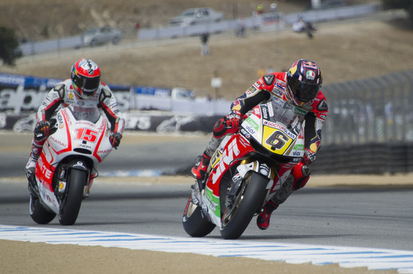 Alex+De+Angelis+Stefan+Bradl+MotoGp+Red+