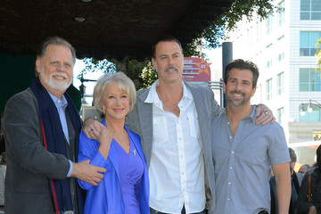 Alex Hackford Helen Mirren Honored On The Hollywood Walk Of Fame