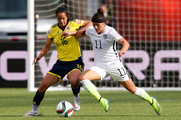 Alex Krieger United States v Colombia: Round of 16 - FIFA Women's World Cup 2015
