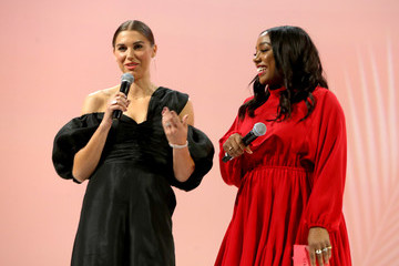 Alex Morgan The Teen Vogue Summit 2019: On-Stage Conversations And Atmosphere