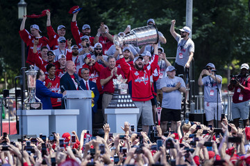 Alex Ovechkin Washington Capitals Victory Parade And Rally