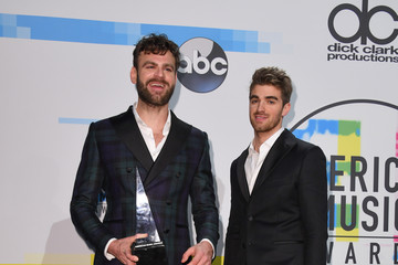 Alex Pall The Chainsmokers 2017 American Music Awards - Press Room
