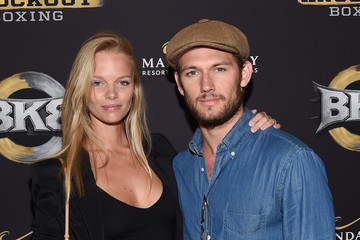 Alex Pettyfer  Marloes Horst Inaugural Event for BKB