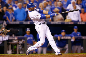 Alex Rios League Championship - Toronto Blue Jays v Kansas City Royals - Game Six