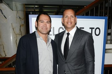Alex Rodriguez Johnny Damon Annual Charity Day Hosted by Cantor Fitzgerald and BGC - Cantor Fitzgerald Office - Inside
