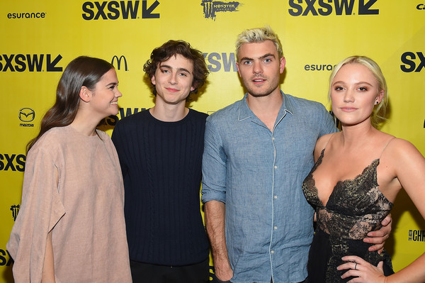 f827697ca92 Alex Roe and Timothee Chalamet Photos»Photostream · Pictures ·  Hot Summer  Nights  Premiere - 2017 SXSW Conference and Festivals.