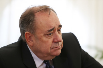 Alex Salmond Alex Salmond Holds Press Conference Regarding Sexual Harassment Allegations