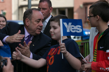 Alex Salmond Scottish Referendum Campaigning Enters The Final Stages
