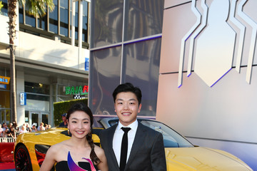 Alex Shibutani Audi Arrives at the World Premiere of 'Spider-Man: Homecoming'