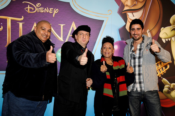 'The Princess and the Frog' Premiere in Madrid [the princess and the frog premiere,the princess and the frog,social group,event,youth,fun,photography,team,party,leisure,animation,king,javier gurruchaga,omara portuondo,r,alex ubago,madrid,africa,premiere]
