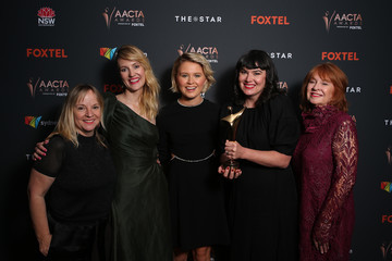 Alex White Kirsty McGregor 2020 AACTA Awards Presented by Foxtel | Film Ceremony - Media Room