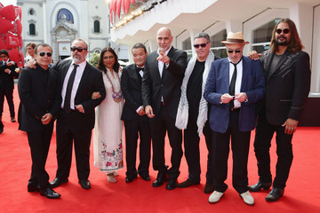 Alex de la Iglesia Warwick Thornton 'Words With Gods' - Premiere - 71st Venice Film Festival