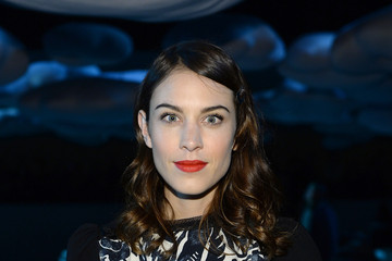 Alexa Chung Front Row at the Marc Jacobs Show