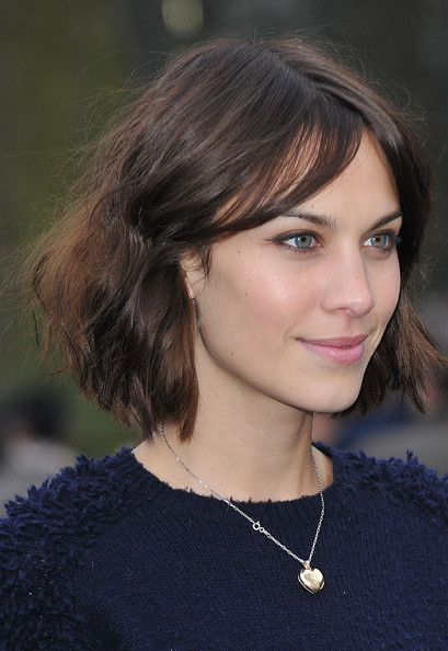 Alexa Chung Alexa Chung attends the Burberry Prorsum Show at London Fashion Week Autumn/Winter 2011 at Kensington Gardens on February 21, 2011 in London, England.