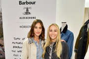 Alexa Chung (L) and Harley Viera-Newton attend the Barbour By ALEXACHUNG Fall 2019 Collection Celebration at Nordstrom on October 10, 2019 in New York City.