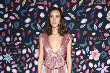 Alexa Chung Harper's Bazaar Exhibtion At Musee Des Arts Decoratifs In Paris