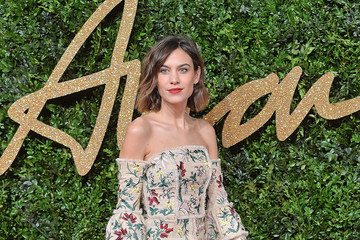 Alexa Chung British Fashion Awards 2015 - Red Carpet Arrivals